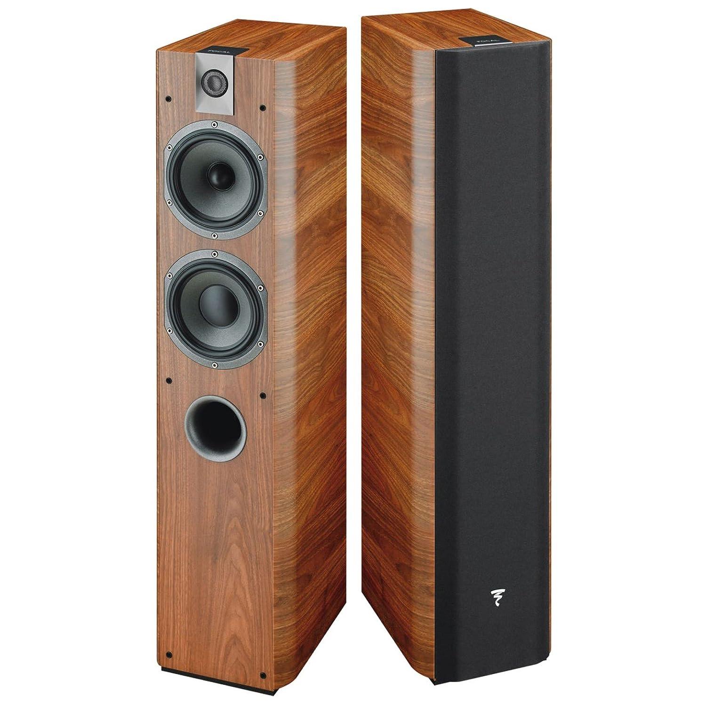 Focal Chorus 716 - Altavoces (Speaker set unit, Piso, Closed, 50-28000 Hz, 8 Ohmio, 91.5 Db) Nuez