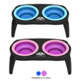 PETMAKER 80-PET6096 Elevated Pet Bowls with Non