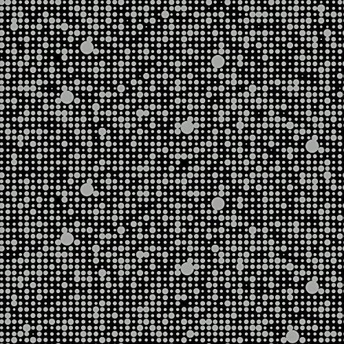 RoomMates RMK9105RL Black Polka Dot Peel and Stick Wallpa...