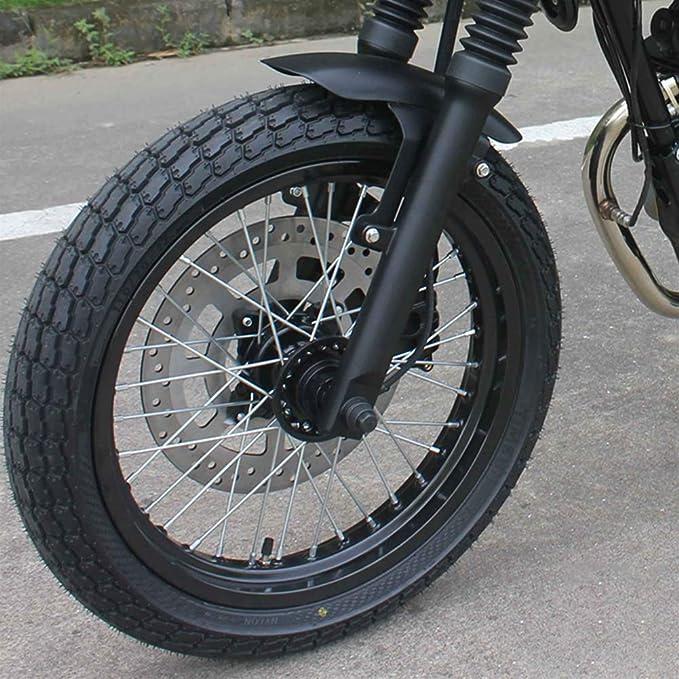 Retro New Black Fender Rear Wheel Splash Mudguard Cover Cafe Racer Dirt Bike KLX