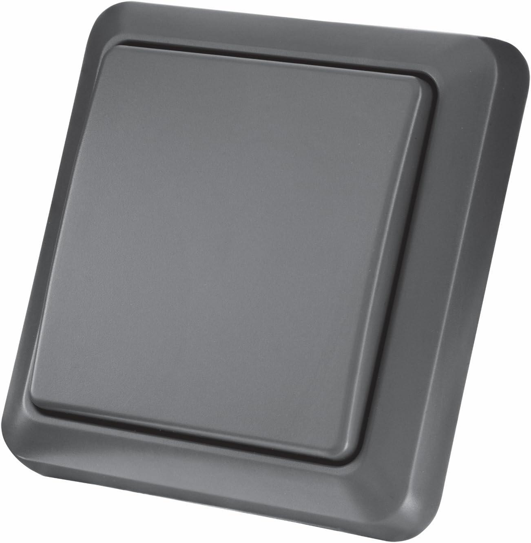 Trust AGST-8800 - Interruptor de Pared inalámbrico para Exteriores, Color Negro