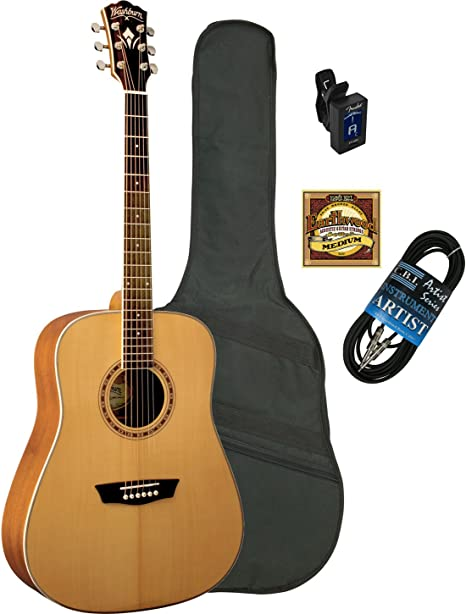 Washburn wd-11s guitarra acústica: Amazon.es: Instrumentos musicales
