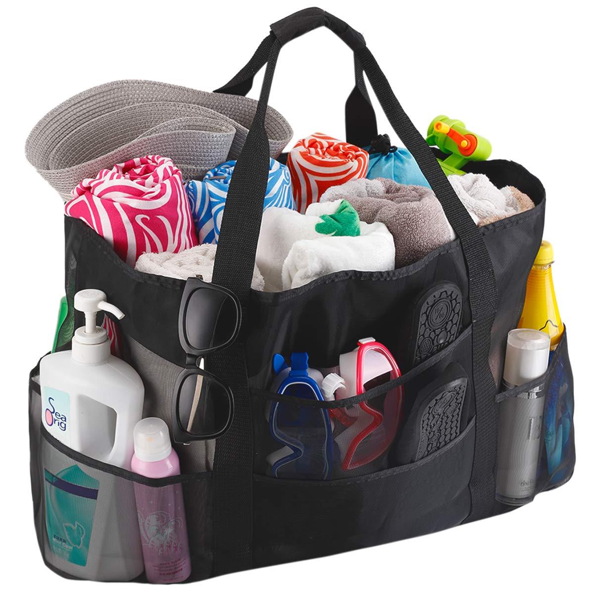 Fundia Extra Large Beach Bags and Totes XXL Mesh Beach Bag