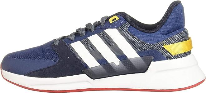 Adidas RUN90S, Zapatillas Running Hombre, Azul (Onix/FTWR White ...