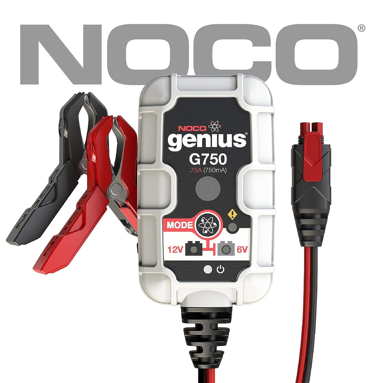 Noco Battery Company 6 12v 750ma Charger Car 6v Maintainer Lead Acid Motorbike