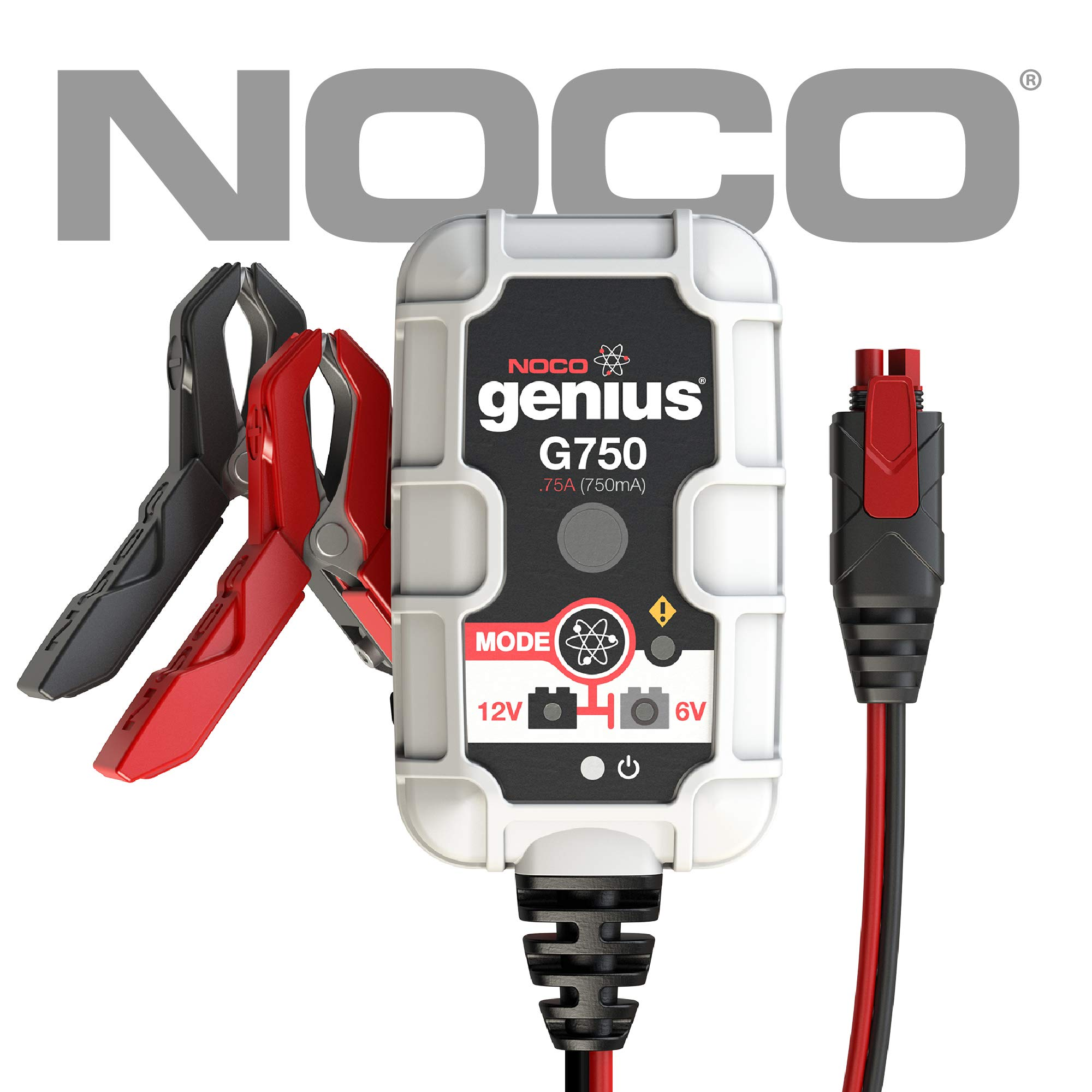 NOCO Genius G750 6V/12V .75 Amp Battery Charger and Maintainer product image