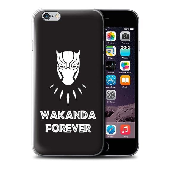new styles 3859b 38481 Amazon.com: STUFF4 Phone Case/Cover for Apple iPhone 6S / Wakanda ...