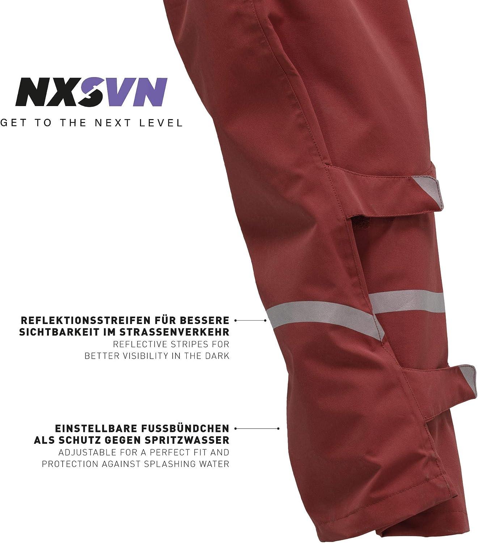 Alta Visibilidad con Cinta Reflectante 3M Rubberneck NXSVN Pantalones de Lluvia Reforzado Transpirable