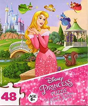 Disney Princesses 48 Pieces Jigsaw Puzzle v12 Cardinal Industries