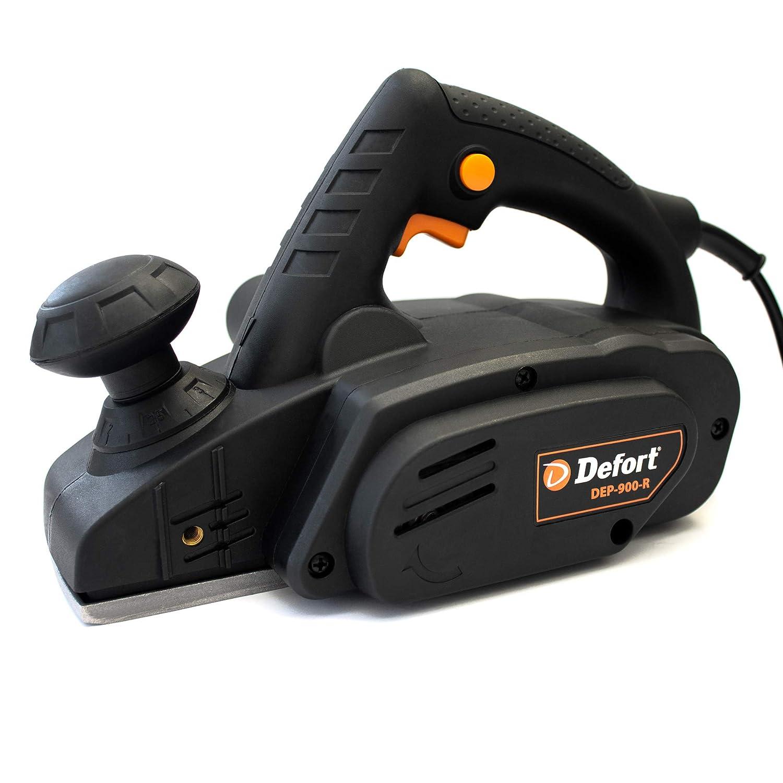 Defort DEP-900-R Elektrohobel 900 W, Hobelbreite 82 mm Falzfunktion, Spanauswurfsystem