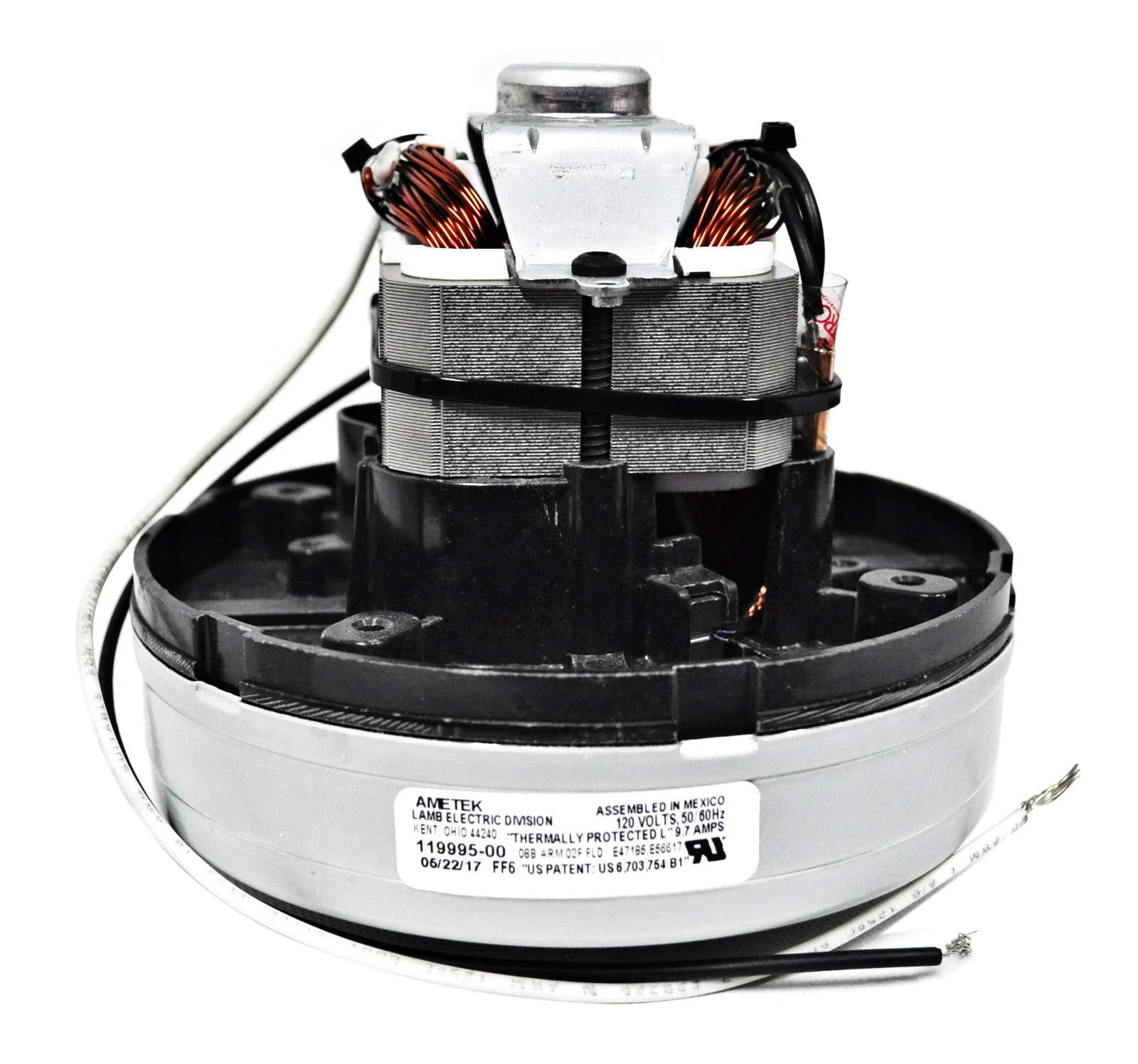 Ametek Lamb 5.7 Inch 120 Volt 1 Stage TF B/B Vacuum Motor 119995-00 by Ametek