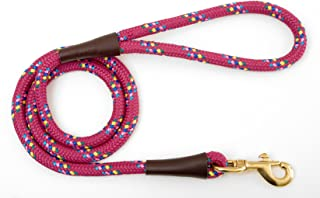 "product image for Mendota Products Snap Leash, 1/2"" x 6', Rasp Confetti"