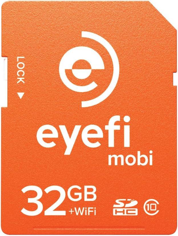 Amazon.com: Eyefi Mobi 8 GB SDHC Class 10 Tarjeta de memoria ...