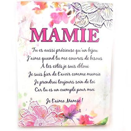 Poema De Mano Mamie20x15 Cm Amazones Hogar
