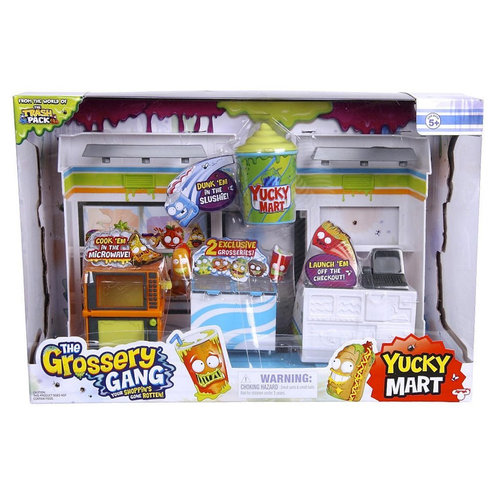 The Grossery Gang – Yucky Mart – Décor + 2 Mini Figurines GGA01000