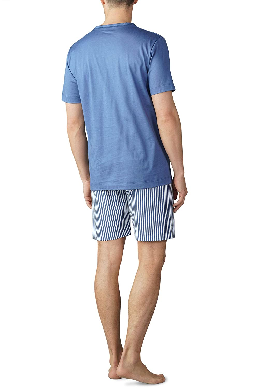 Mey Club Schlafanzug kurz Herren Pyjama 18770