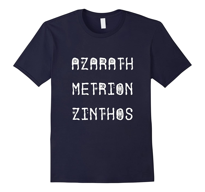 Azarath Metrion Zinthos T Shirt Witch Spell Shirts Halloween-FL