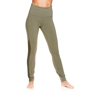 b0dff5764 Gaiam Women's Om High Rise Waist Yoga Pants - Performance Spandex  Compression Leggings - Emila Hi