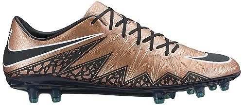 new arrival f094e 57c6d Nike - Hypervenom Phinish FG, Scarpe da calcio Uomo, Brown   nero   verde
