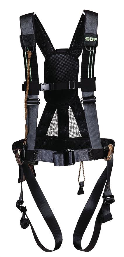 Amazon.com : Summit Treestands Fastback Harness Climbing Belt ...