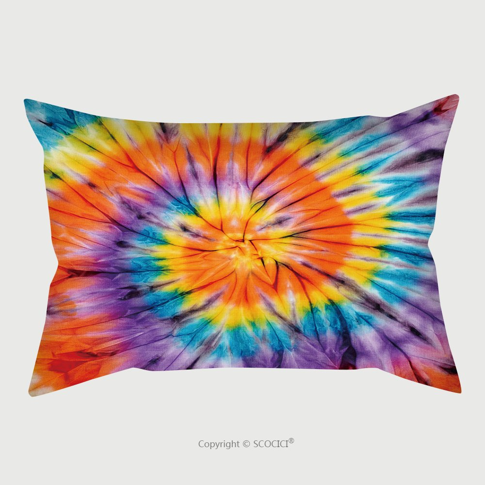 Custom Satin Pillowcase Protector Abstract Tie Dyed Fabric Background 247598581 Pillow Case Covers Decorative by chaoran (Image #1)