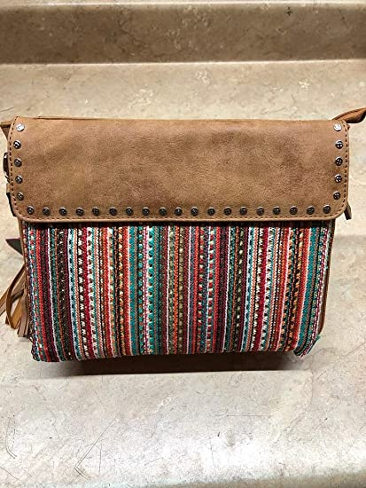 Amazon.com  3D Angel Ranch Tan Distressed Faux Concealed Carry ... 251da5e81aa02