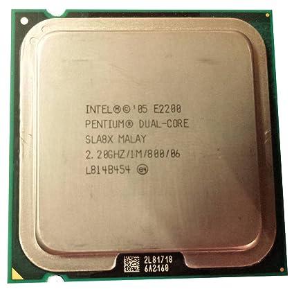 DRIVERS: INTEL PENTIUM DUAL CPU E2200