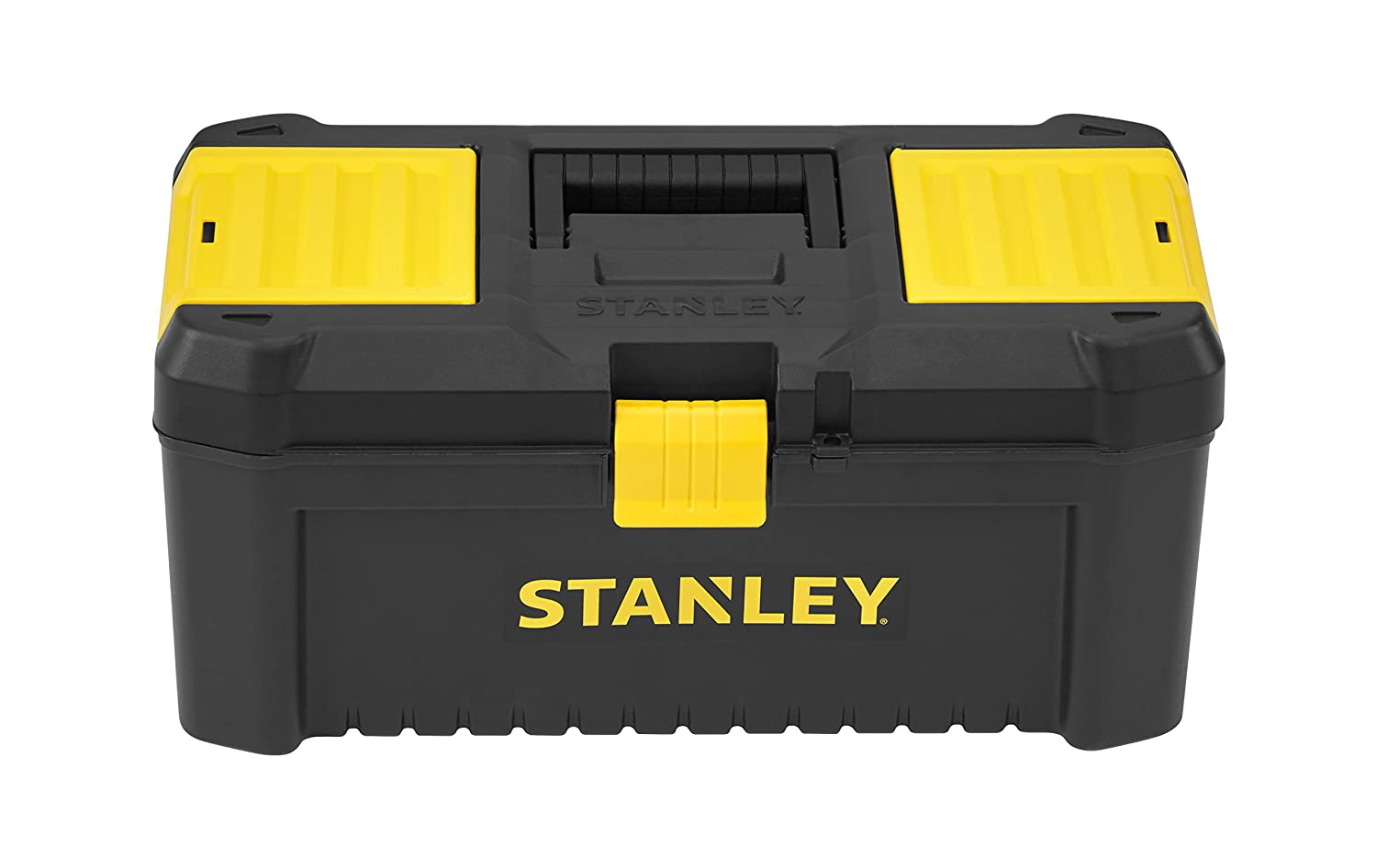 Stanley STST1-75517 Essential 16inch Toolbox in Black and Yellow