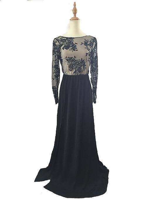 SN-0052 Black Lace womens dress CLUBWEAR OL commuter Fashion Uniform S M L (S(US 2-4)): Amazon.co.uk: Kitchen & Home
