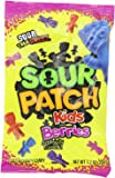 Sour Patch Kids Berries Soft & Chewy Candy 7.2 Oz Bag