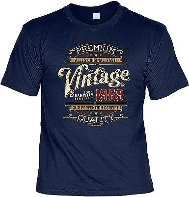 Herren Geburtstag T-Shirt - 50 Jahre Vintage seit 1969 - lustige Shirts 4  Heroes Geschenk-Set Bedruckt mit Urkunde  Amazon.de  Bekleidung 1c0522bda5