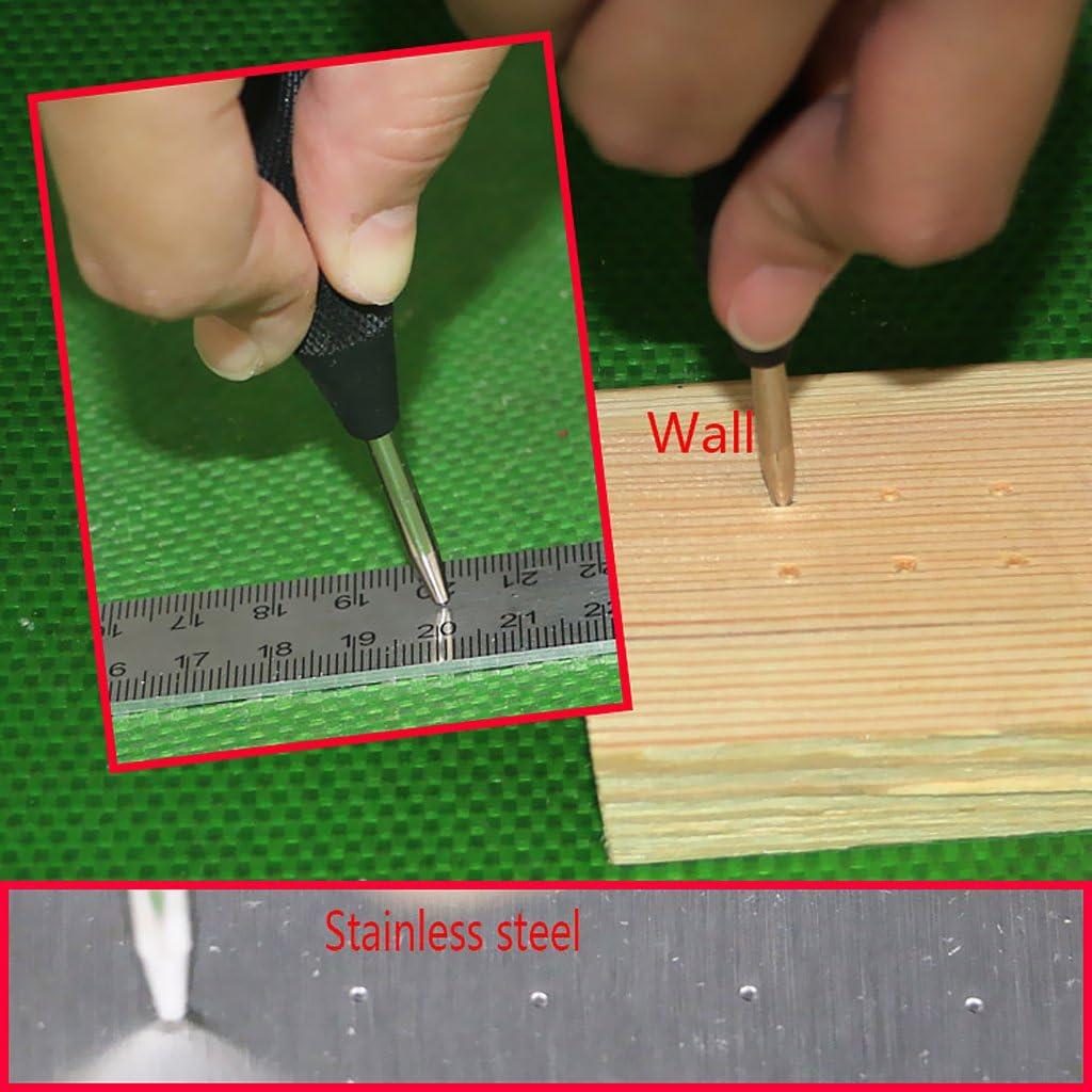 herramienta de marcaci/ón de abolladuras de madera de metal. Punz/ón central punz/ón central autom/ático
