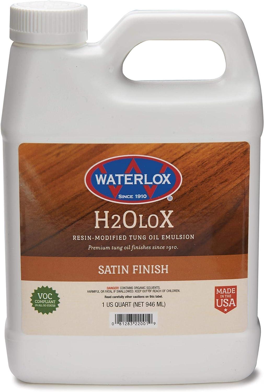 Waterlox 2001-QT Sealer, Quart, Satin
