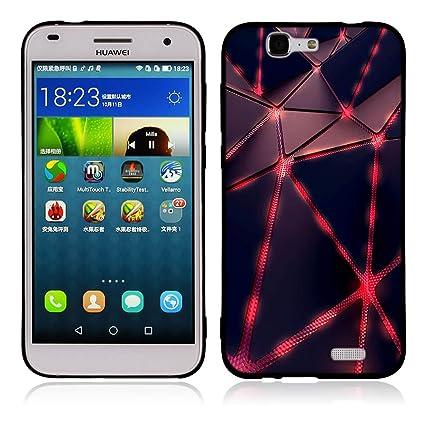 best website c19e7 5f6b0 Amazon.com: Huawei Ascend G7 Case, Slim Protective Scratch Resistant ...
