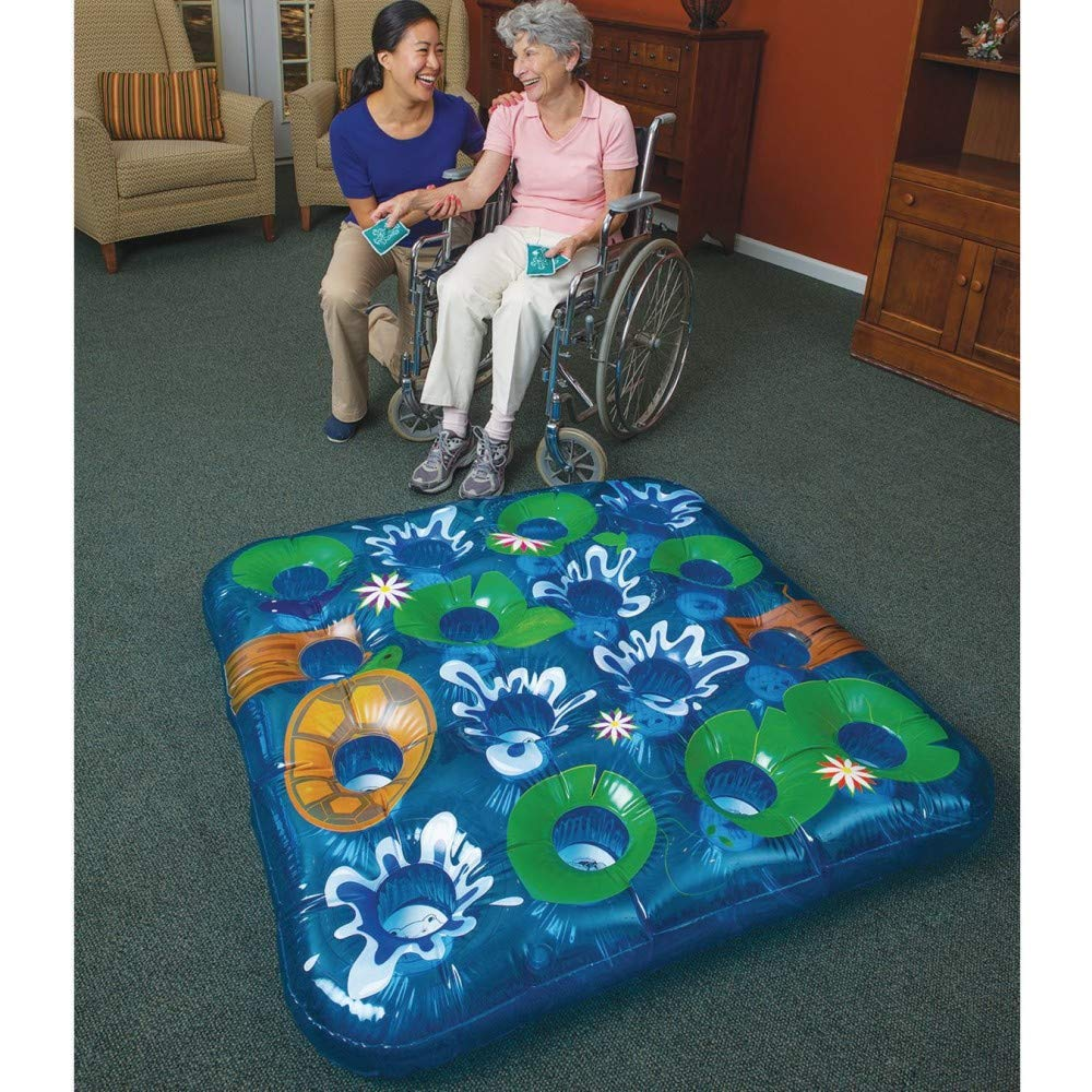 Inflatable Pond Beanbag Toss Game by S&S Worldwide (Image #1)