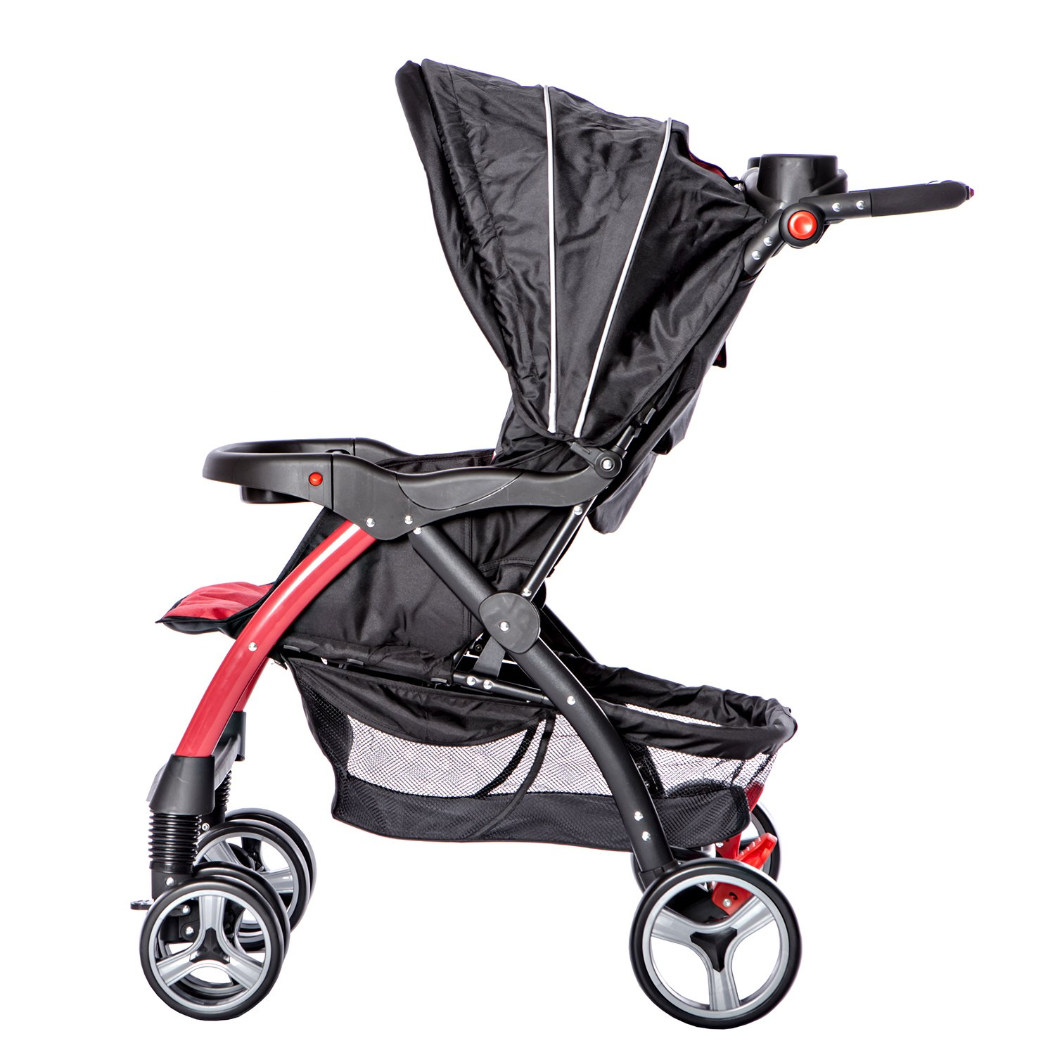 Dream On Me Maldives Lightweight Stroller, Red