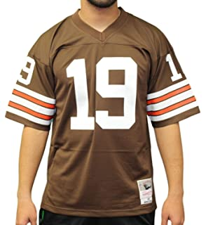 buy online c9e8c 5c330 Amazon.com : Jim Brown Cleveland Browns Mitchell and Ness ...