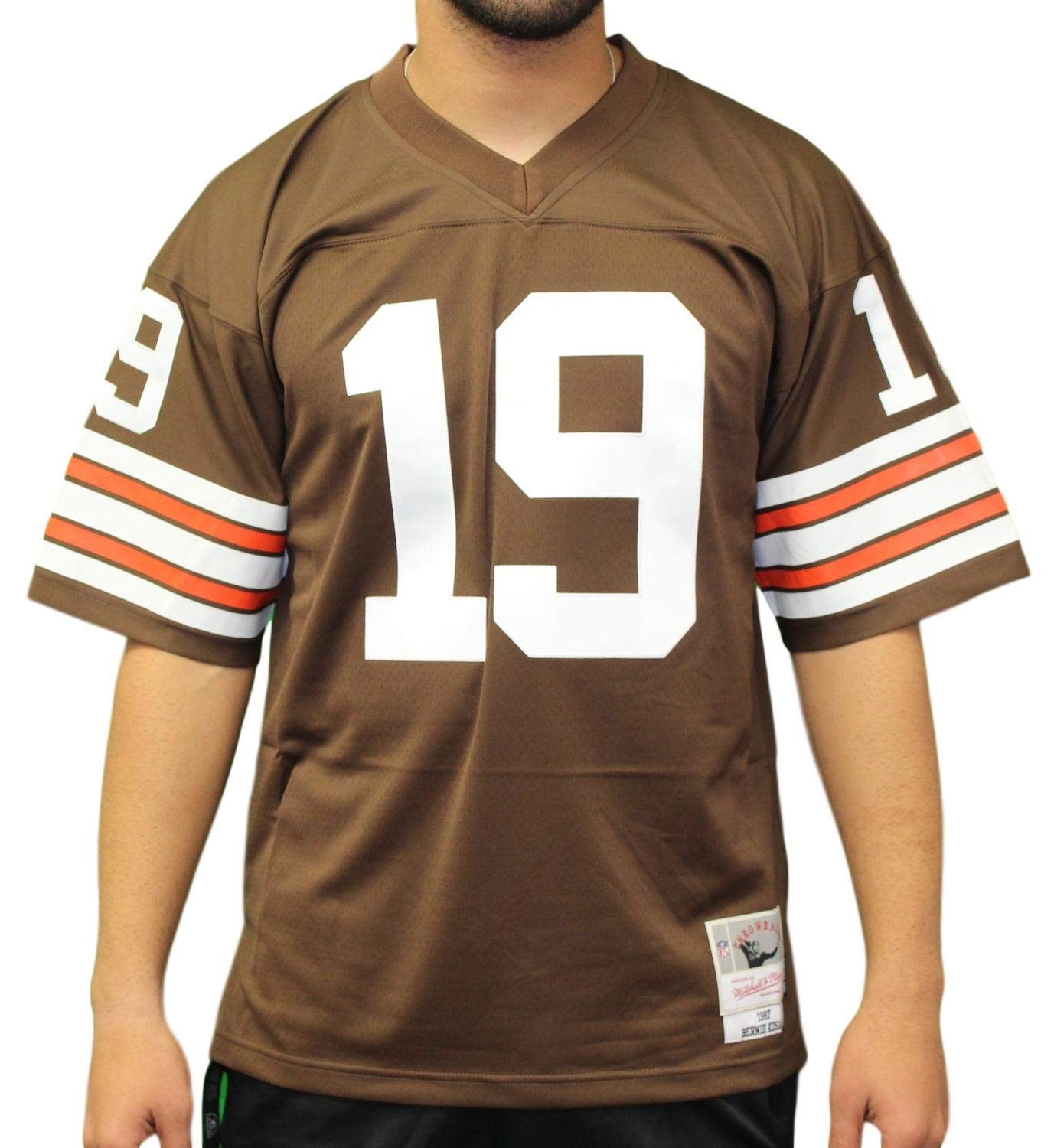 hot sale online df8b0 8e327 Amazon.com : Mitchell & Ness Bernie Kosar Cleveland Browns ...