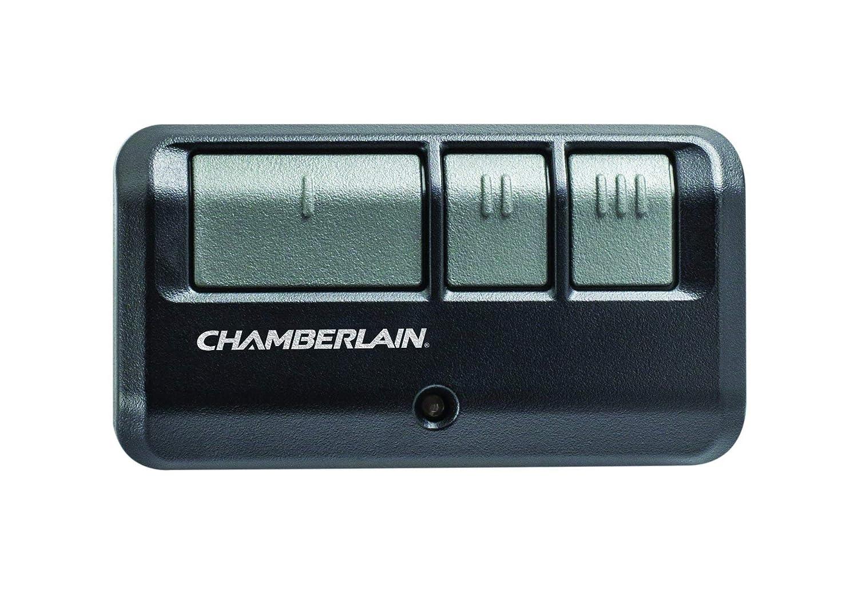 Chamberlain/LiftMaster / Craftsman 953EV-P2 3-Button Garage Door Opener Remote, Security +2.0 Compatible, Includes Visor Clip (Renewed)