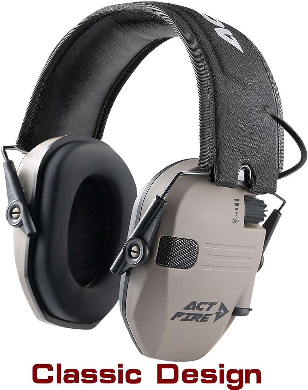 Shooting Ear Protection Electronic Shooting Earmuffs Ultimate Combat Design
