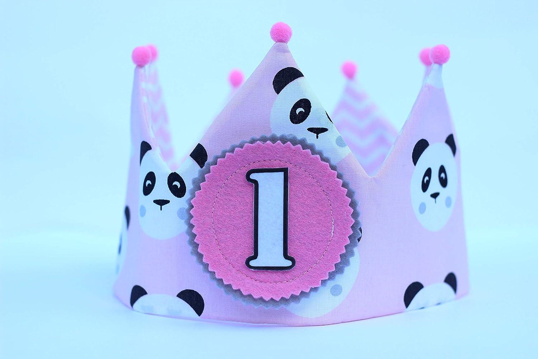 Corona cumpleaños tela para bebés y niña decoración smash ...