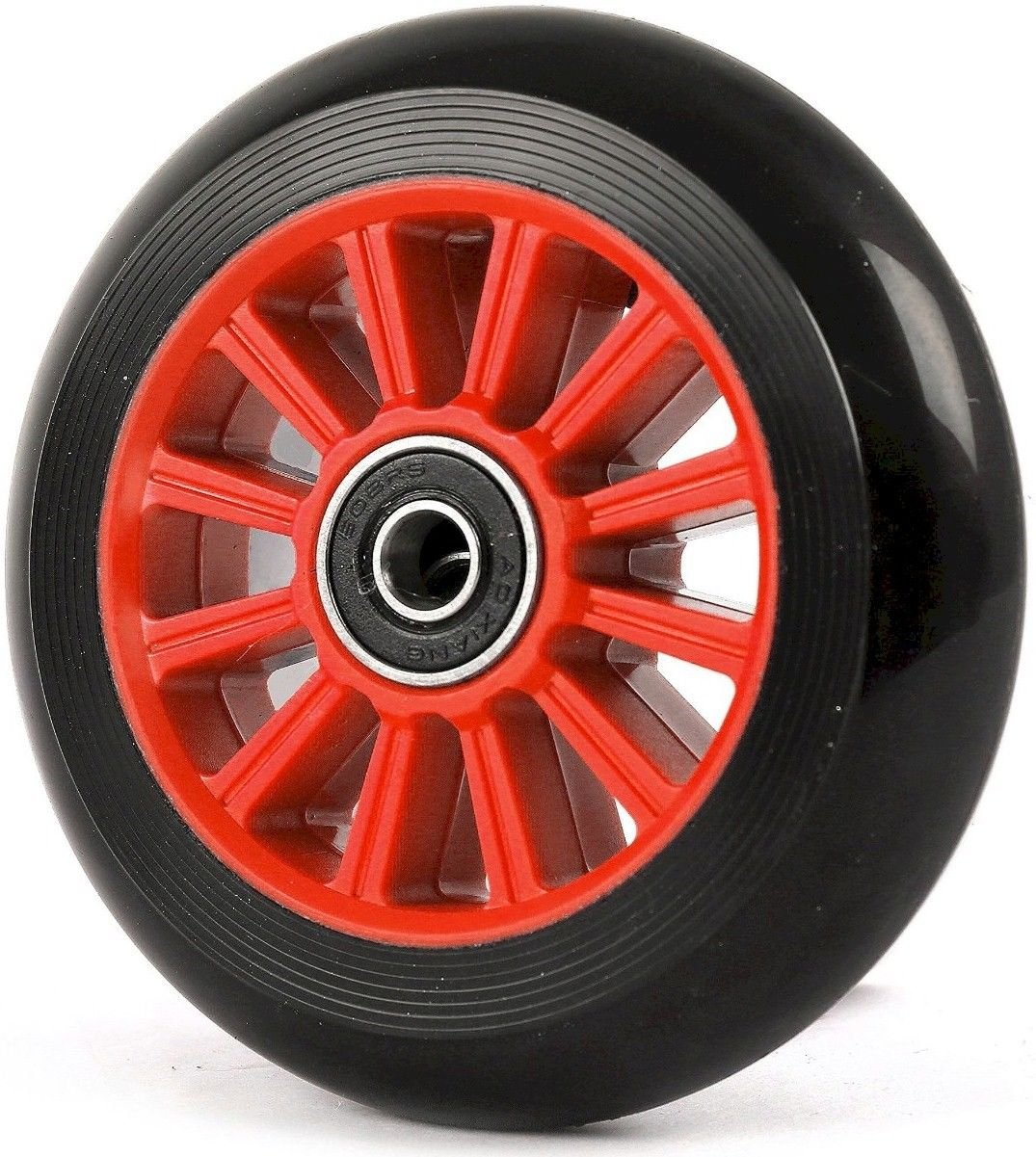 100mm WHEELS FOR STUNT SCOOTER + ABEC9 bearings fits JD Bug Razor Two Bare Feet TBF
