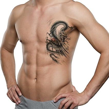 TAFLY Hombres Parte inferior de la espalda, hombro, brazo temporal ...