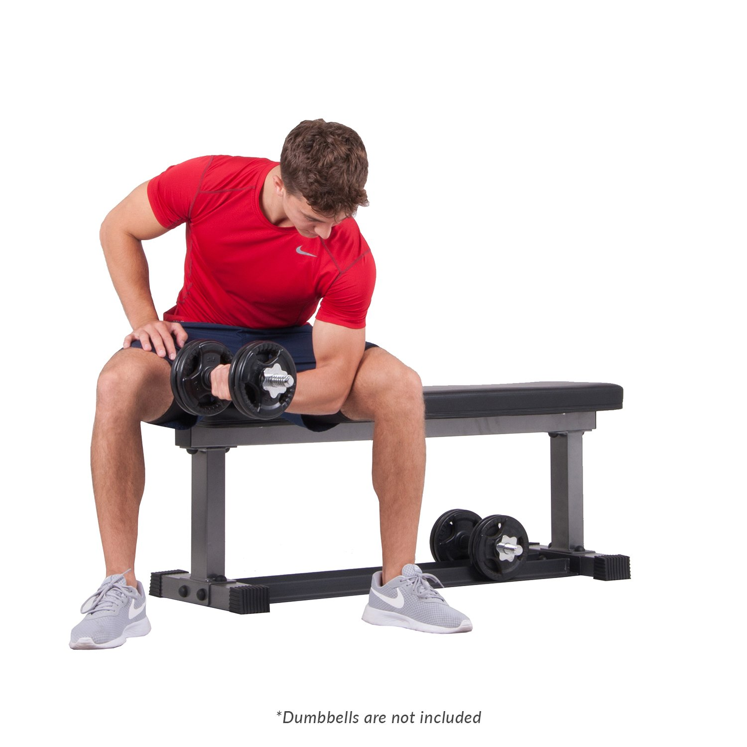 Body Power BUB850 1000 lbs. Weight Bench with Built in Storage Rack