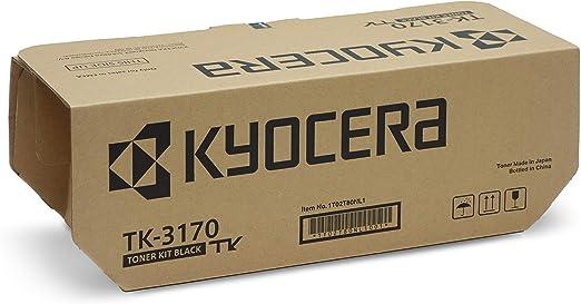 Kyocera Tk 3170 Toner Kit Black Including Waste Toner Behã Temperature Switch For 15 500 Pages Iso Iec 19752 Bürobedarf Schreibwaren