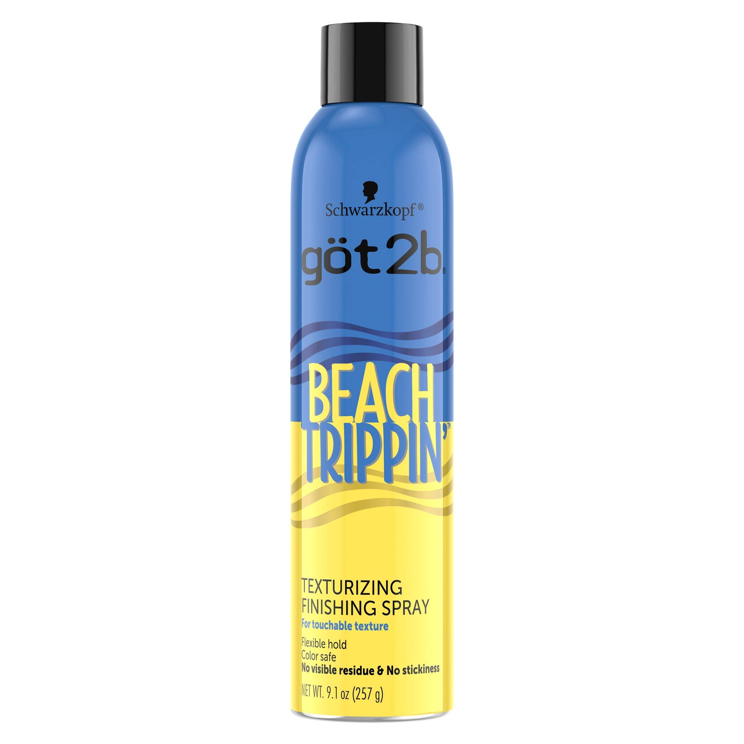got2b Beach Trippin' Texturizing Spray, Hair Spray, 9.1 Ounce