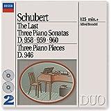 Schubert : Les 3 dernières sonates pour piano D. 958, 959 & 960, Impromptus D. 946 (Coffret 2 CD)