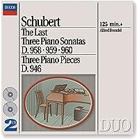 Schubert: Last Three Piano Sonatas