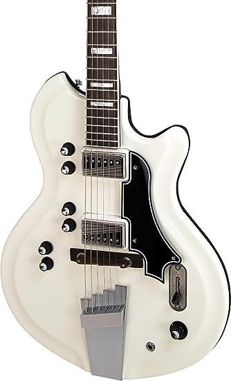 Supro Martinica Semi-Hollow guitarra eléctrica,: Amazon.es: Instrumentos musicales