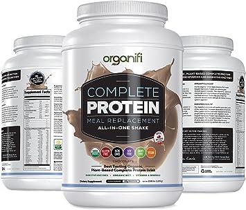 Organifi - Batido de proteína todo en uno completo, mezcla de chocolate mezclado - 2.68libras.